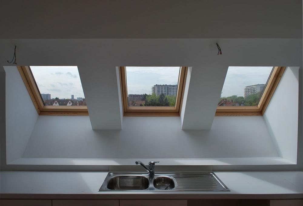 photographie intérieure des logements Wauters