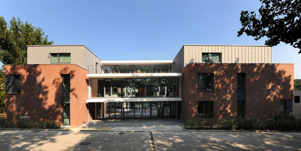 photpgraphie de la façade avant