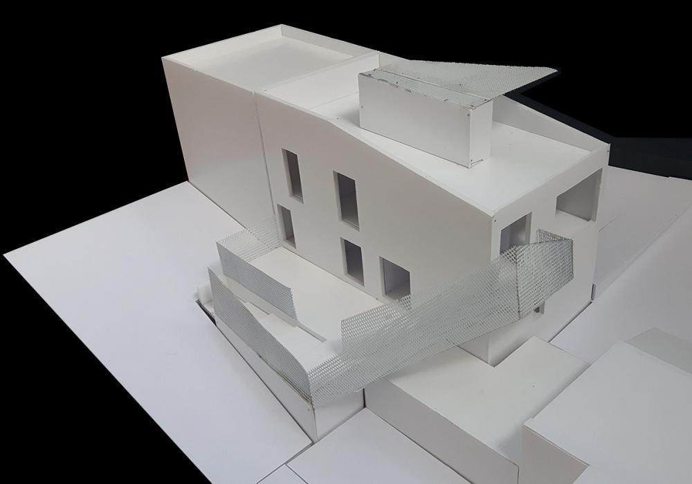 maquette du projet Cigale vue du dessus