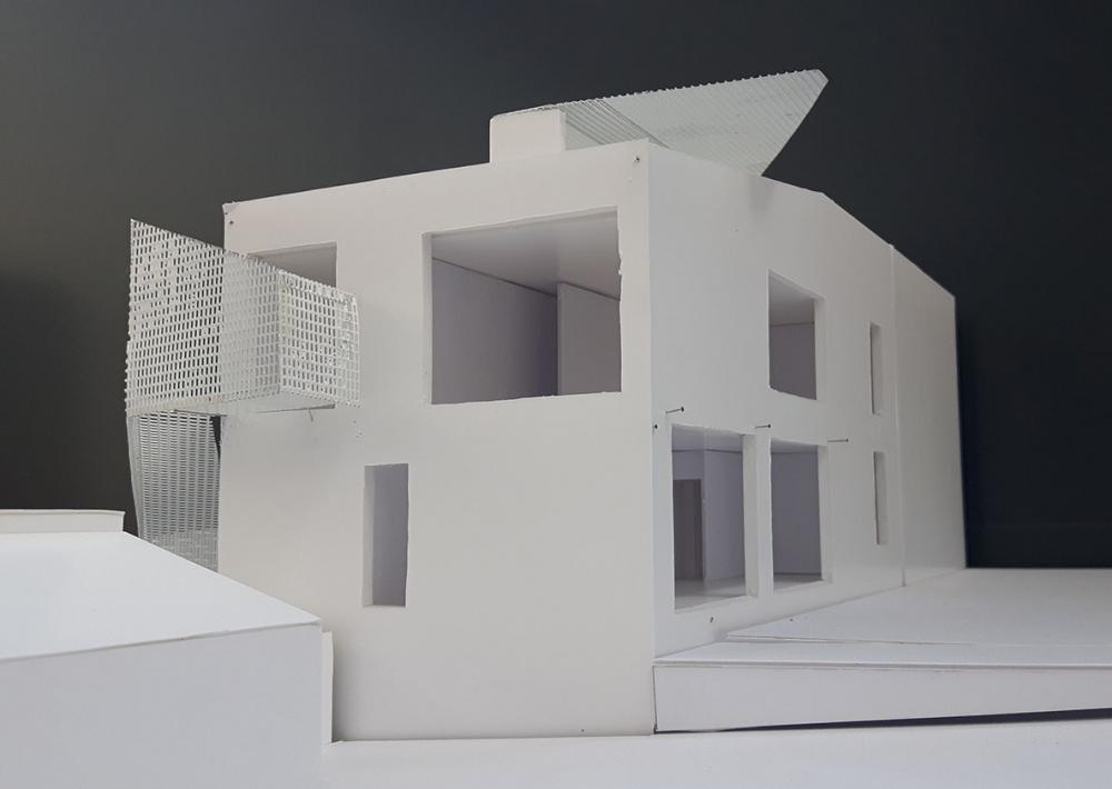 maquette du projet Cigale vue latérale