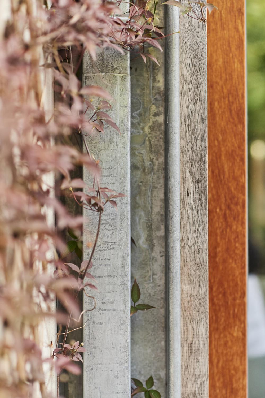 photographie d'un détail de menuiserie de la maison Anatole France