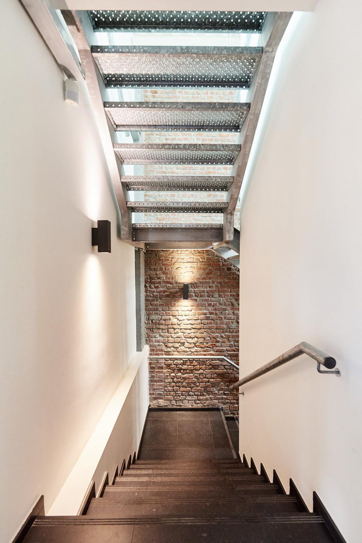 photographie de l'escalier