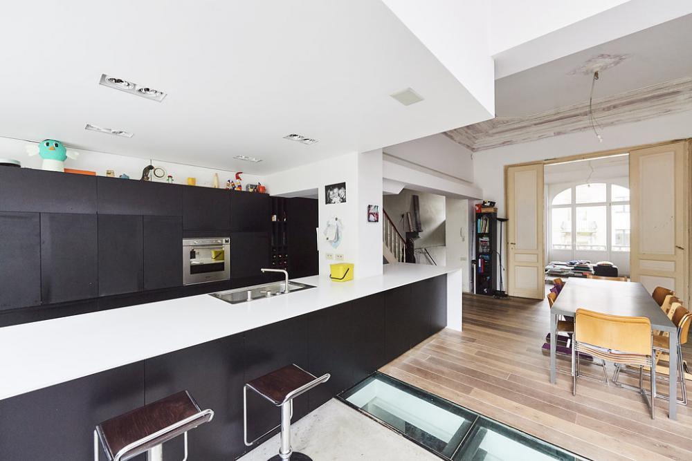 photographie intérieure de la maison Van Becelaere