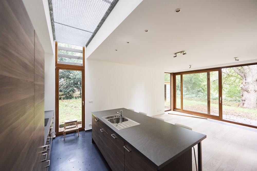 photographie de la cuisine de la maison Raymond Hye