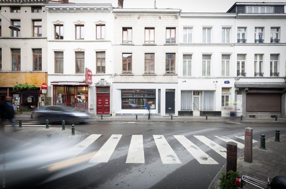 photographie de la façade à rue de la maison Dublin