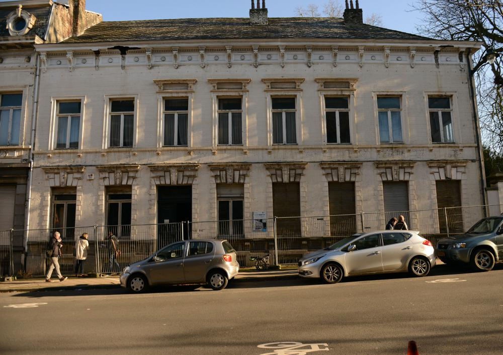 photographie de la façade