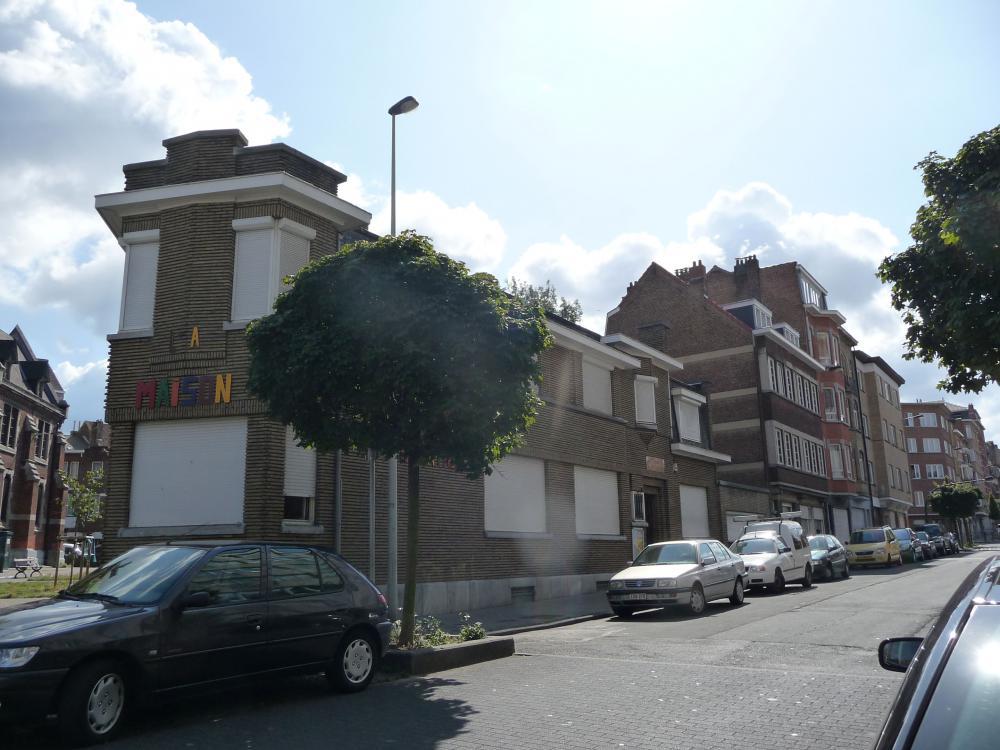 photographie de la façade de la maison de quartier Saint-Antoine