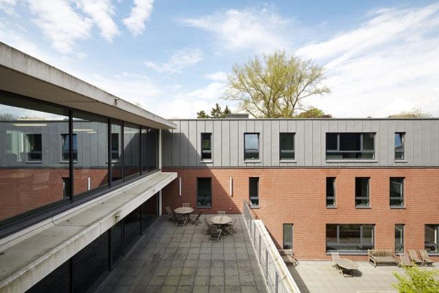 photographie des terrasses est donnant sur le pation