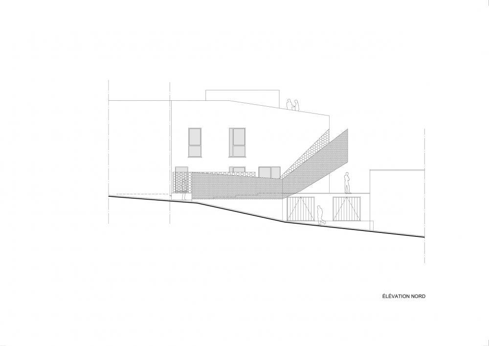 façade rue projet Cigale