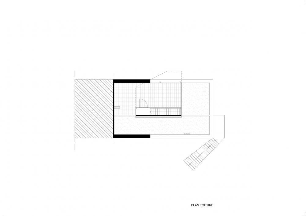 plan 2eme étage projet Cigale