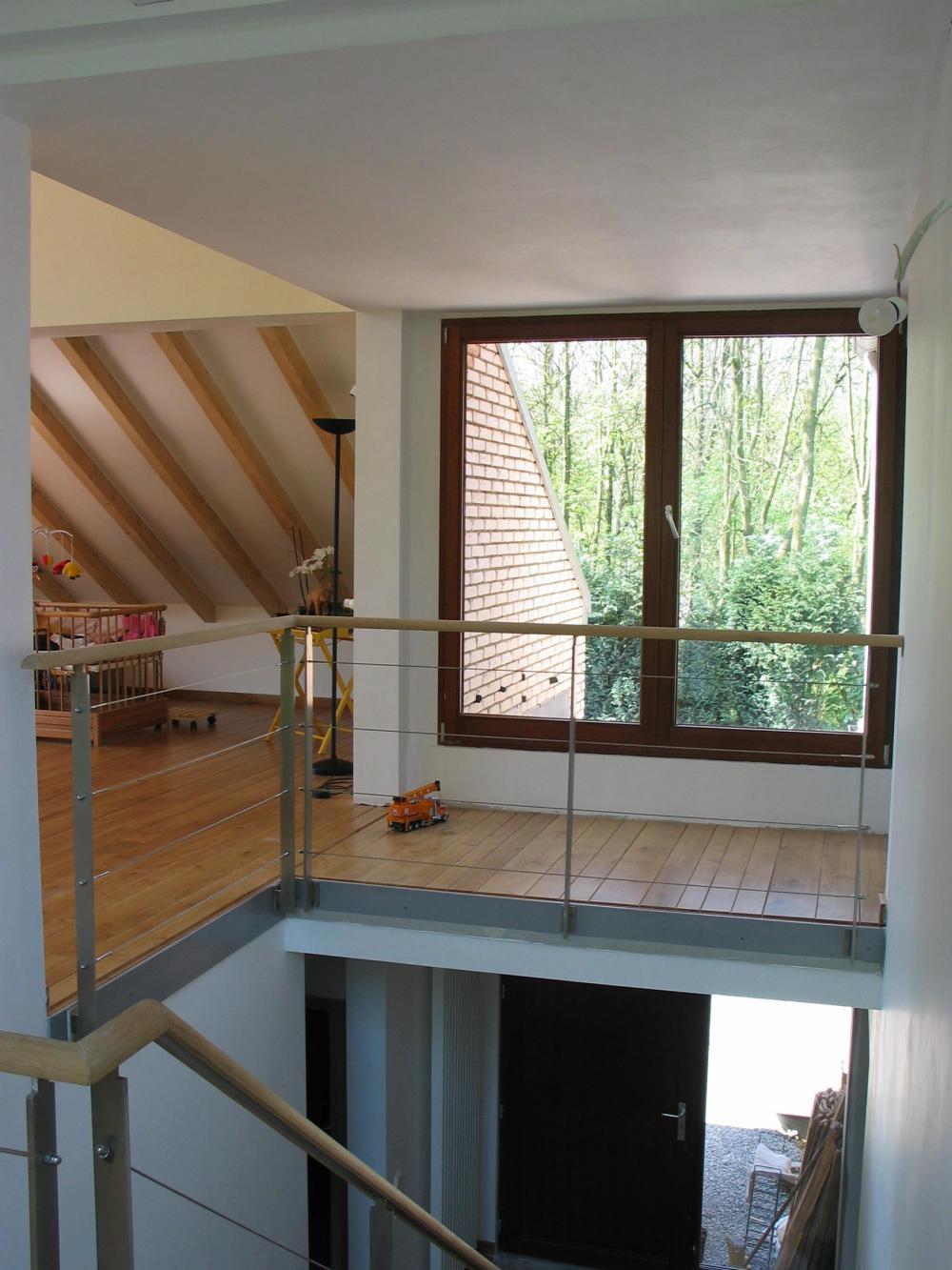 photographie intérieure du séjour de la maison des Fougères